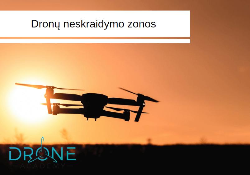 Drone academy - Lietuvos neskraidymo zonos