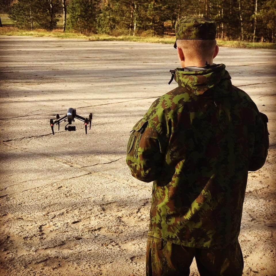 gaiziunu poligonas - dronu kursai