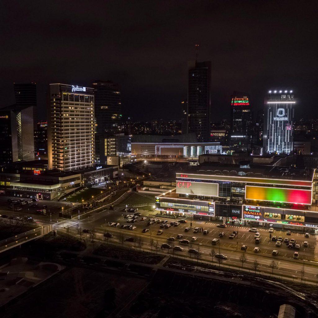vasario 16-toji, Vilnius