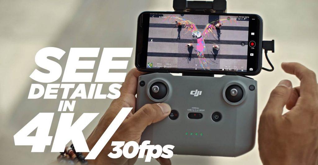 DJI mini 2 4k video