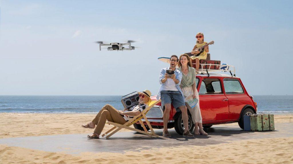 dji mavic mini 2 dronas
