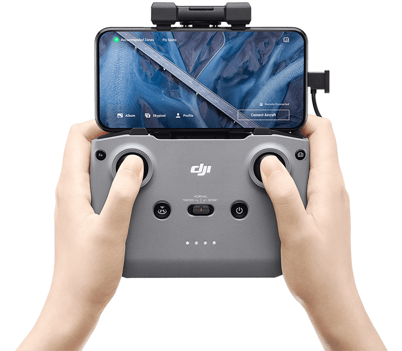 dji mavic air 2 programele
