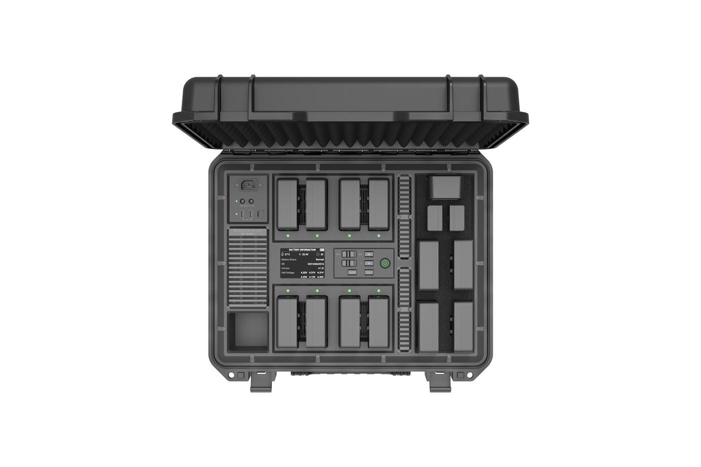 DJI Inspire 2 baterijų stotelė (4)