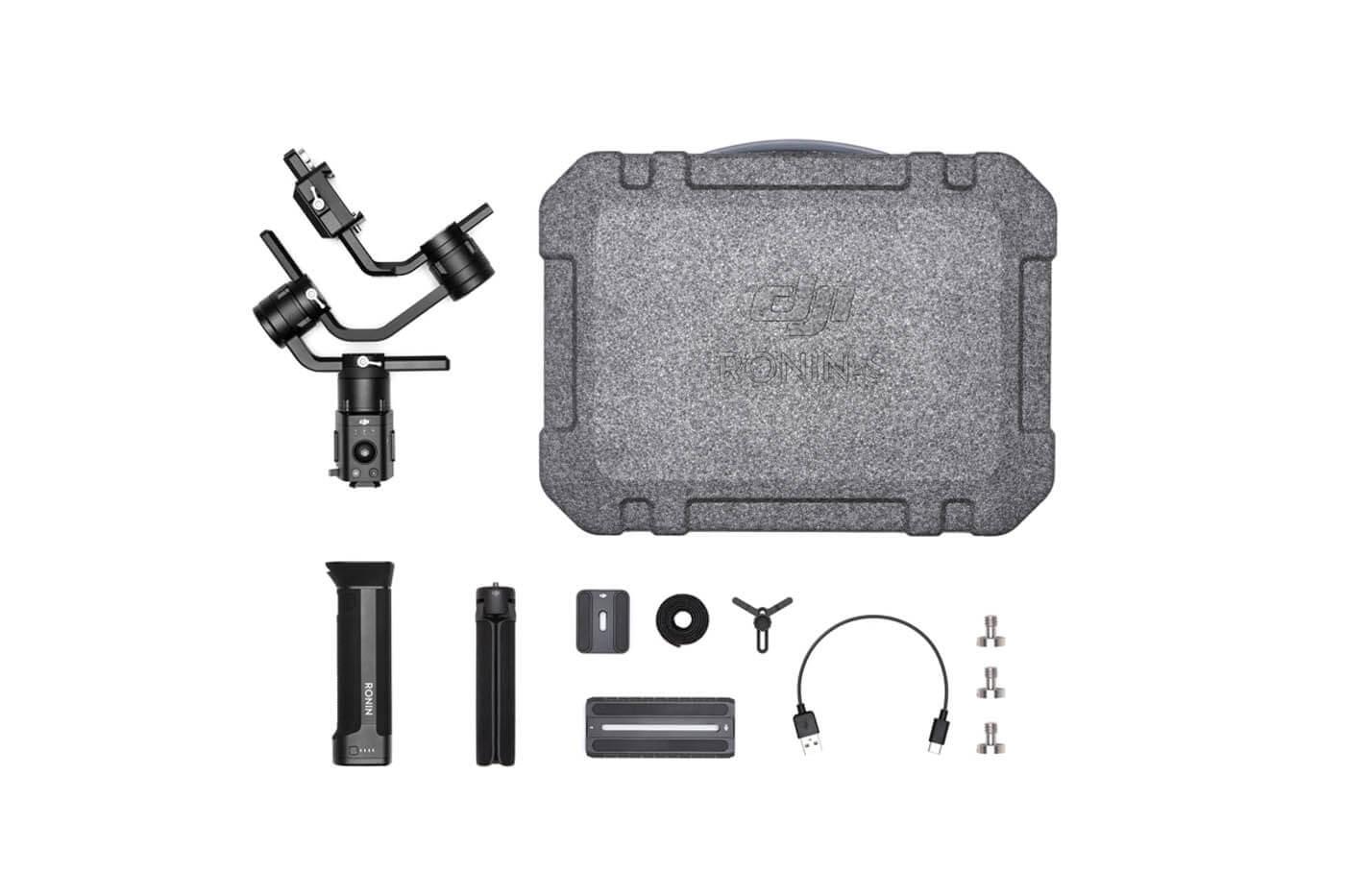 DJI Ronin-S Essentials Kit stabilizatorius (5)