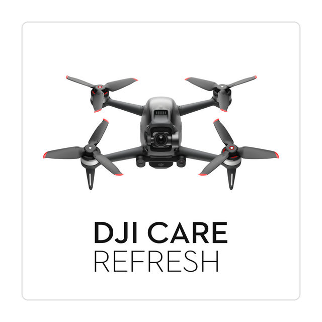 DJI fpv drone care refresh draudimas