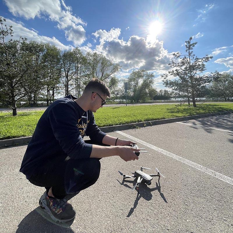 Dronų registracija