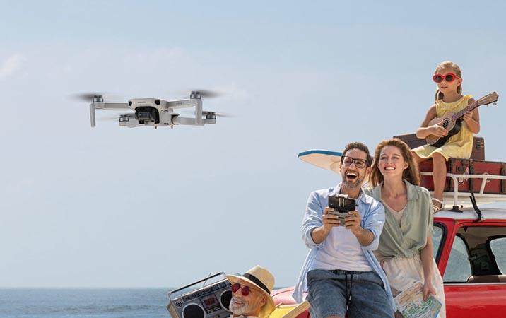 dji mini 2 dronas
